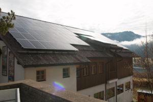 Eröffnung Bürgerkraftwerk Weissensee II - Naturparkschule Weissensee Anlagendetail