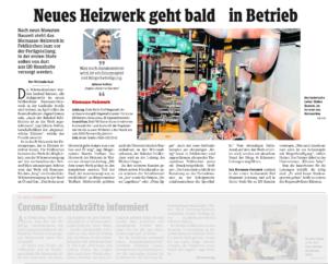 Biomasse Heizwerk Feldkirchen